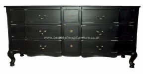 Sandrine 9 Drawer French Chest in your choice of colour